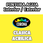 Cartilla de Colores Corona Clasica Acrilica